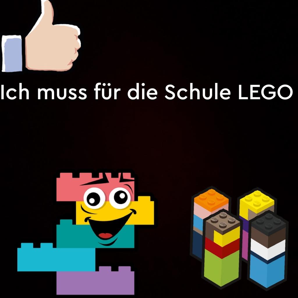 Ich muss für die Schule LEGO bauen😅