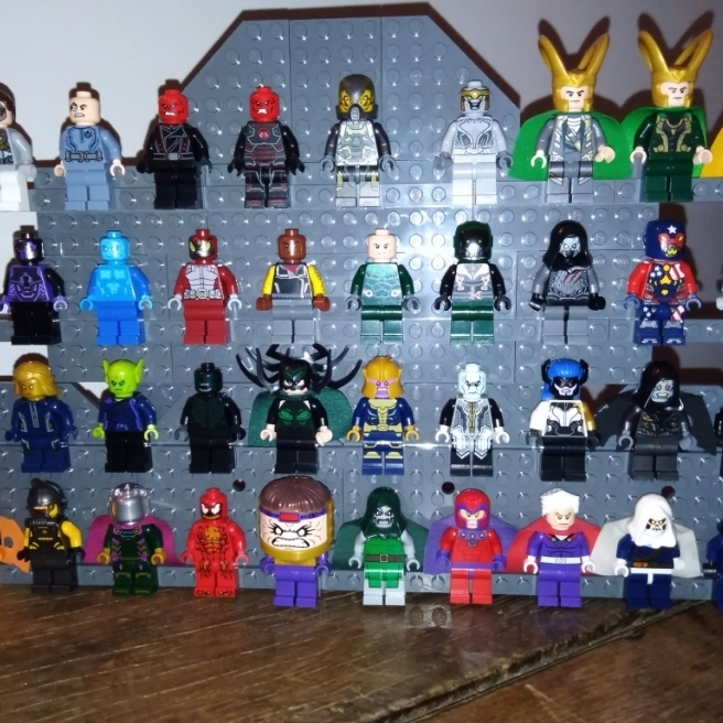 Minifig méchant MARVEL