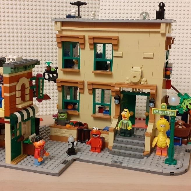 Lego Sesame Street 😀