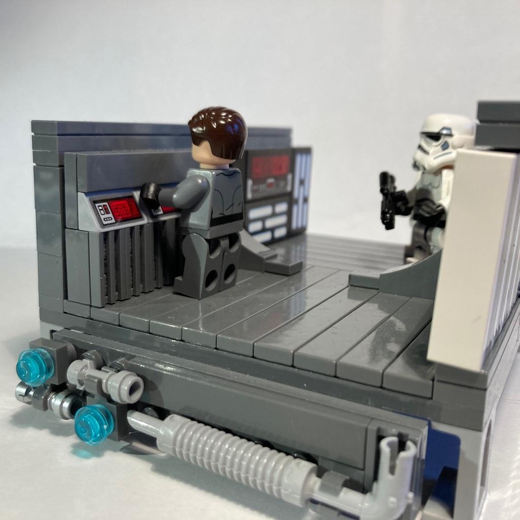 In einem Imperialem Sternzerstörer