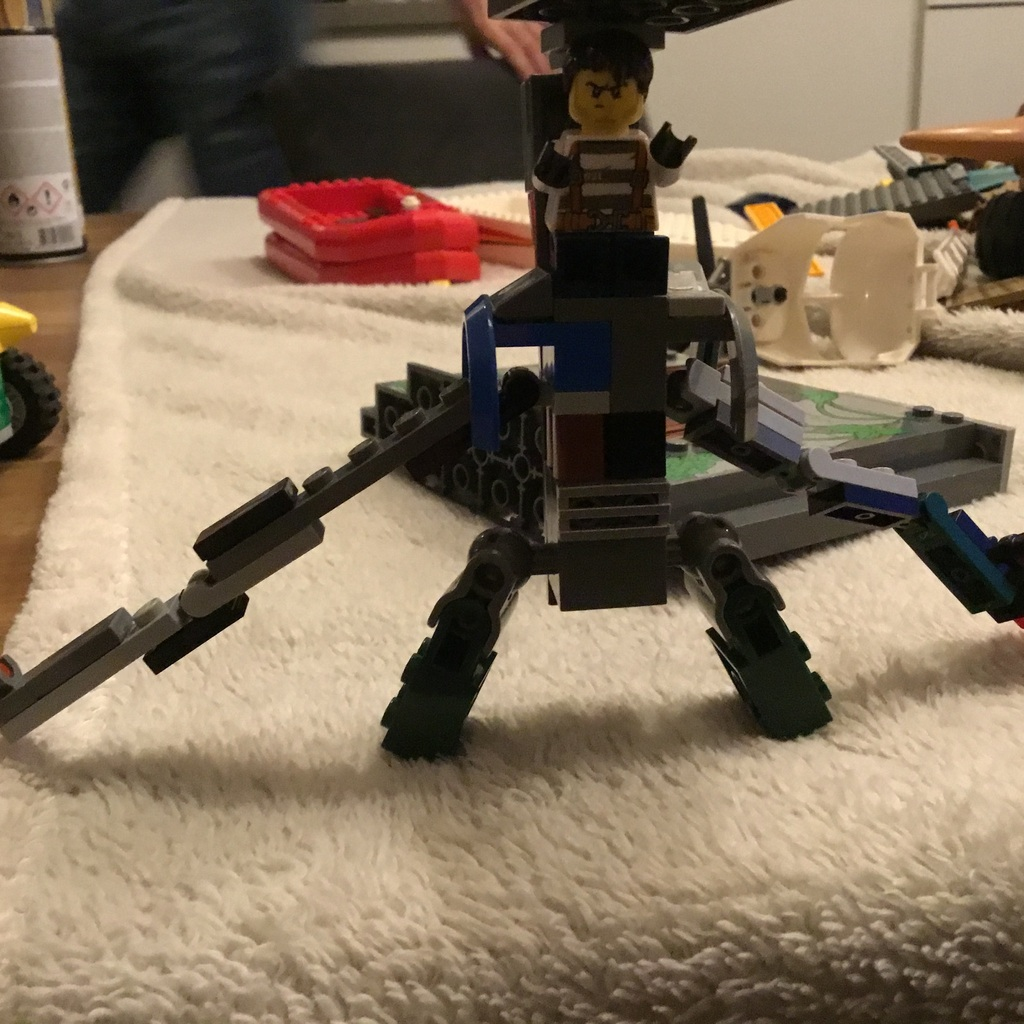 Een schroot robot