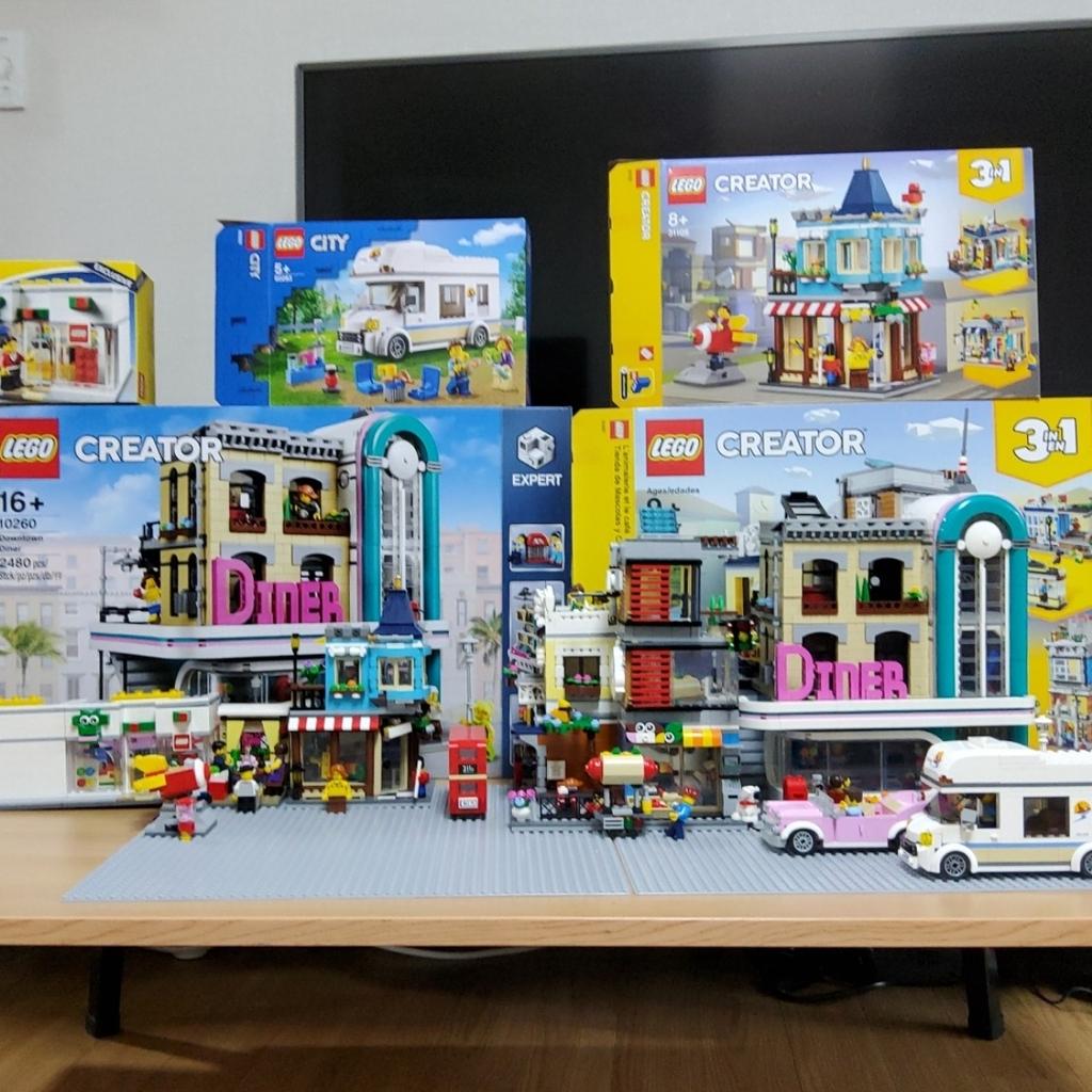 나의 생일선물과 모듈러 시티 작은 마을
