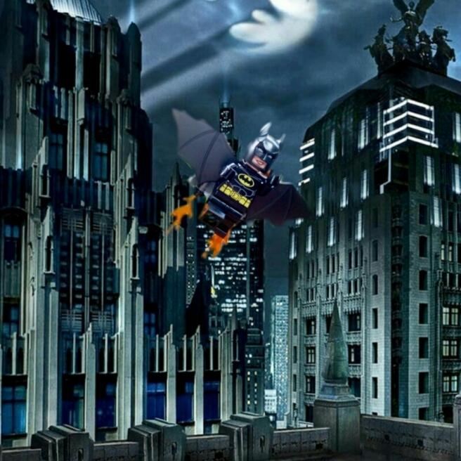 Batman ist unterwegs