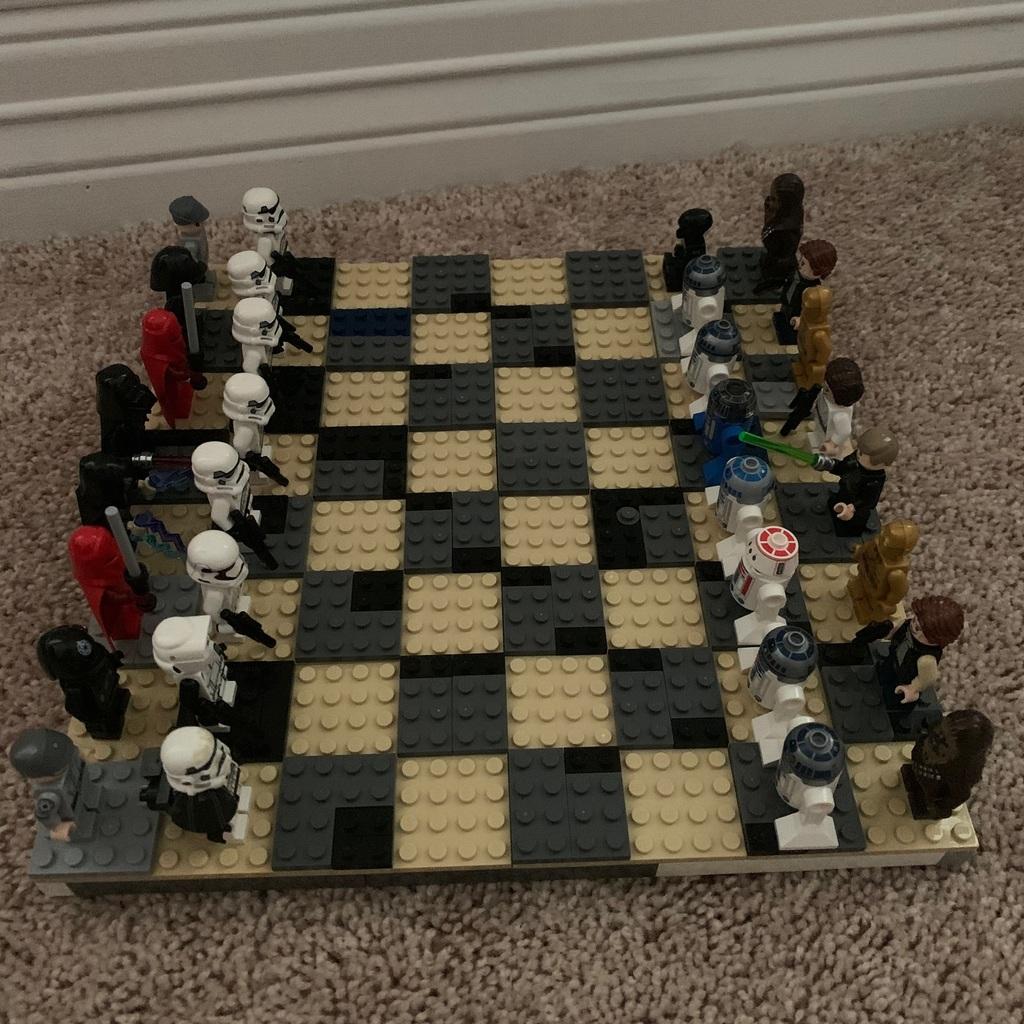 Lego Star Wars schaak spel