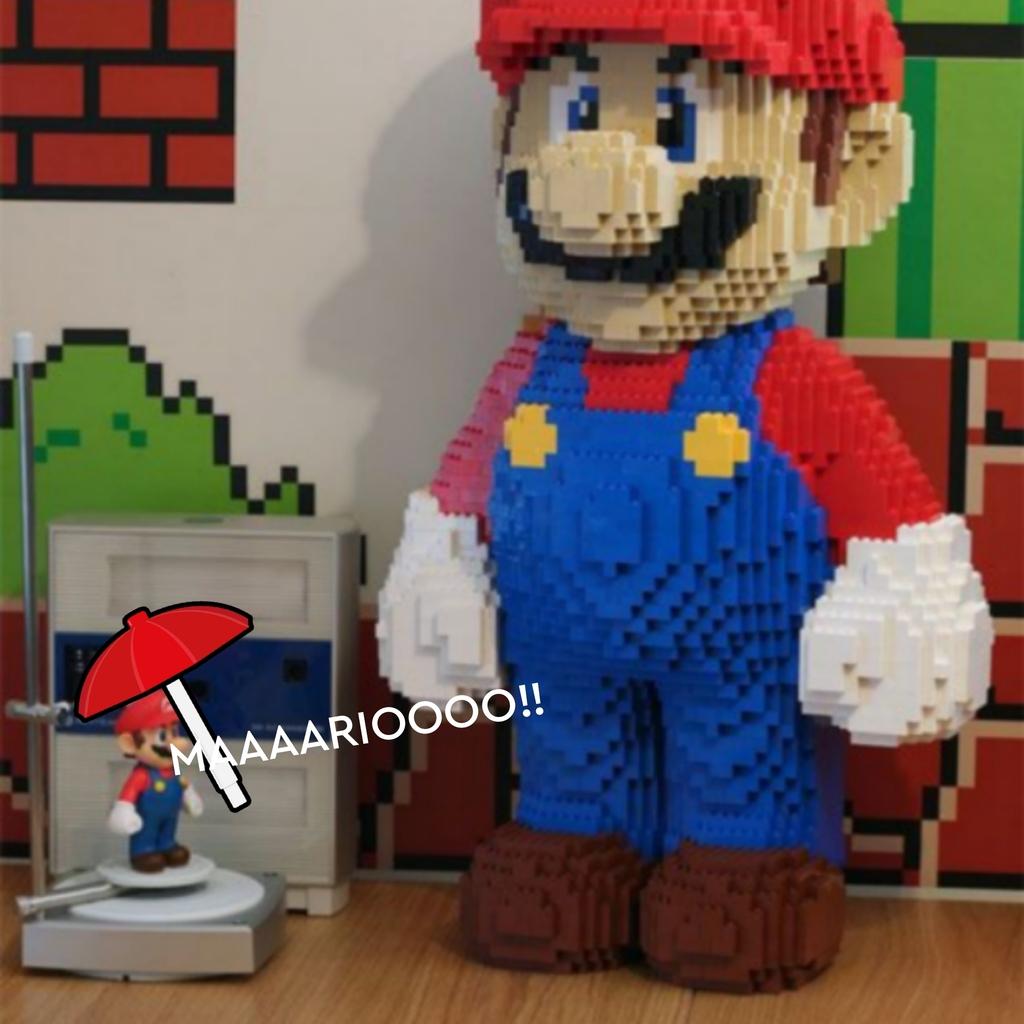 GIGANTE LEGO MARIO