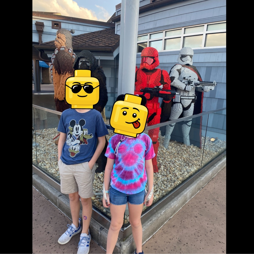 More lego builds at Disney Springs