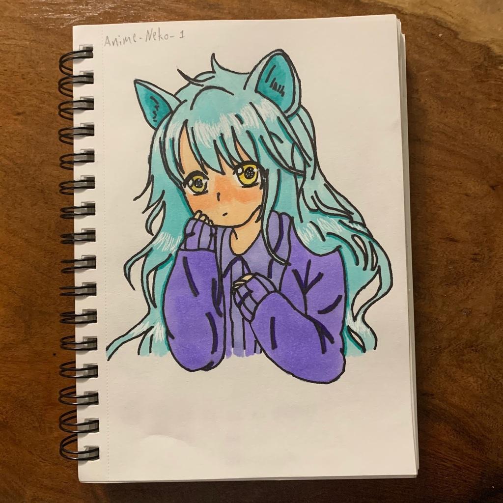 Neko Drawing