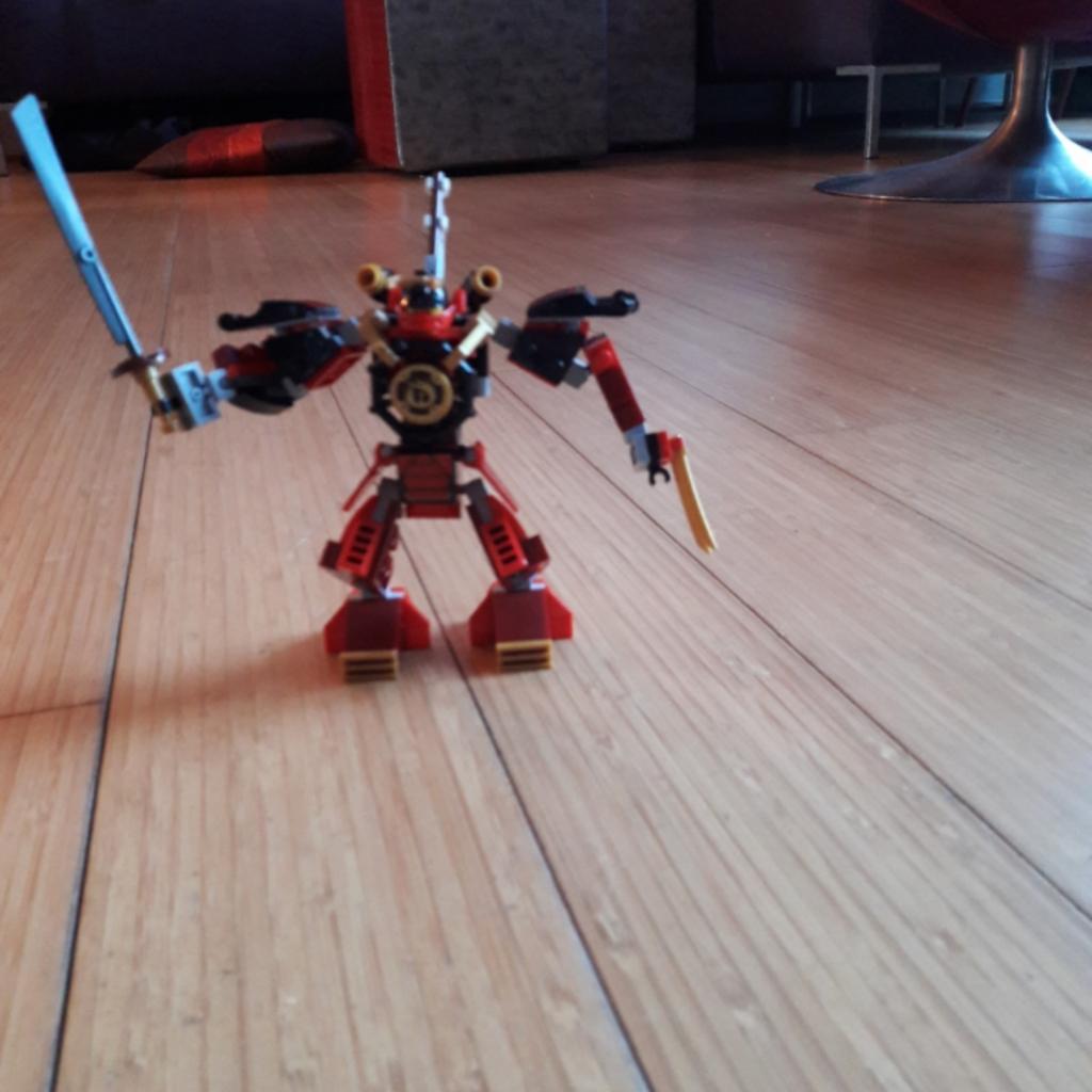 De ninjarobot!
