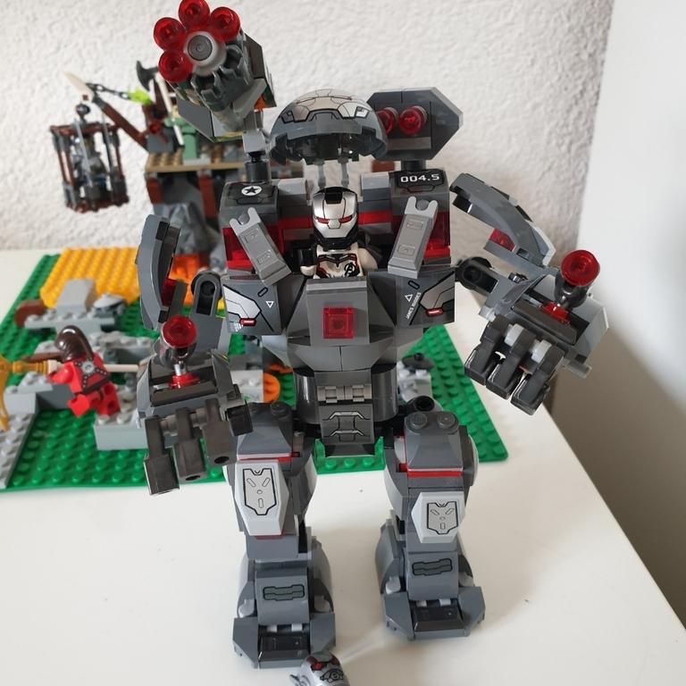 Mein Lego War Maschin Buster