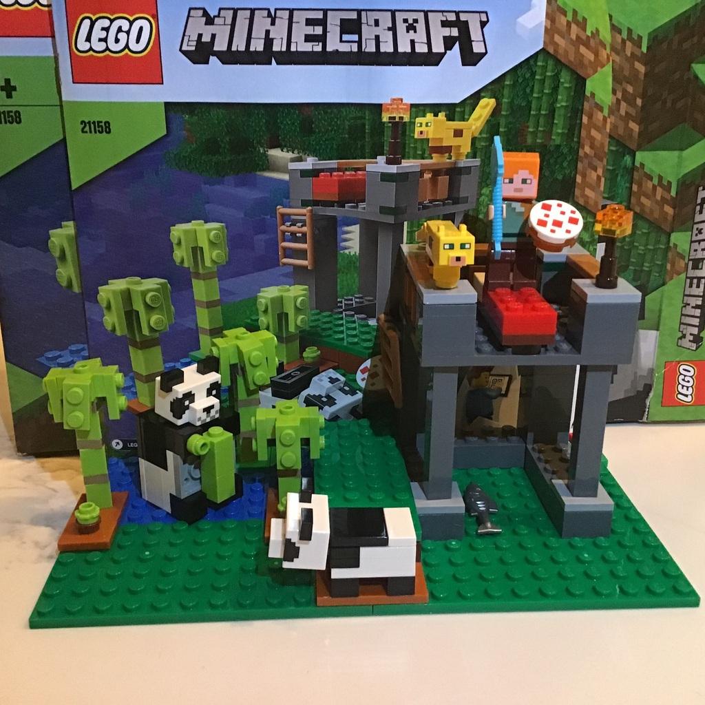 LEGO: minecraft panda nursery