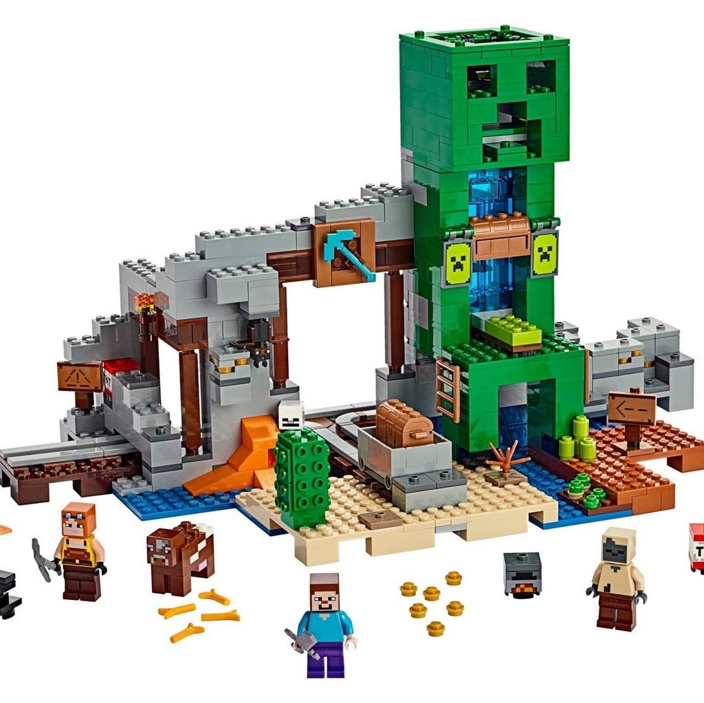 Lego minecraft comunque sono 010