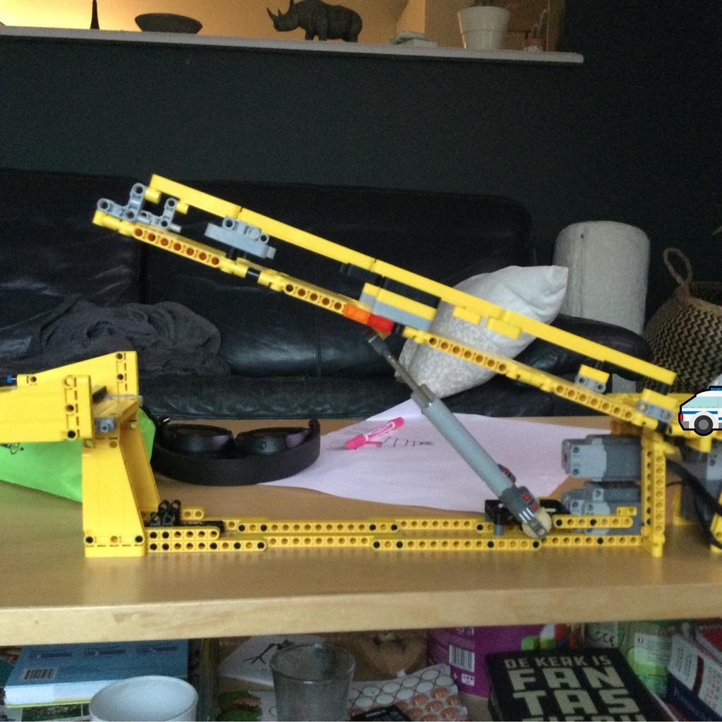 Lego ophaalbrug