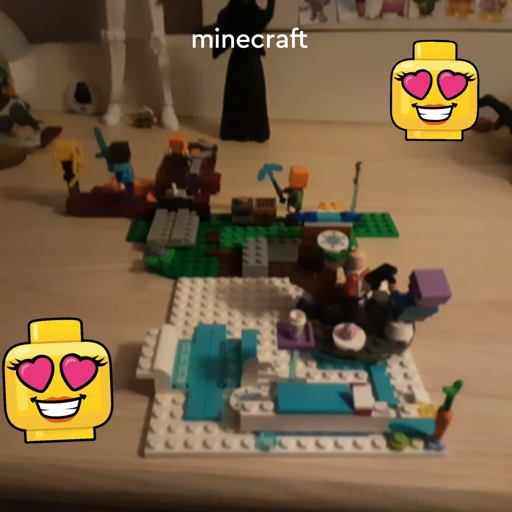 Mes amis et moi dans minecraft