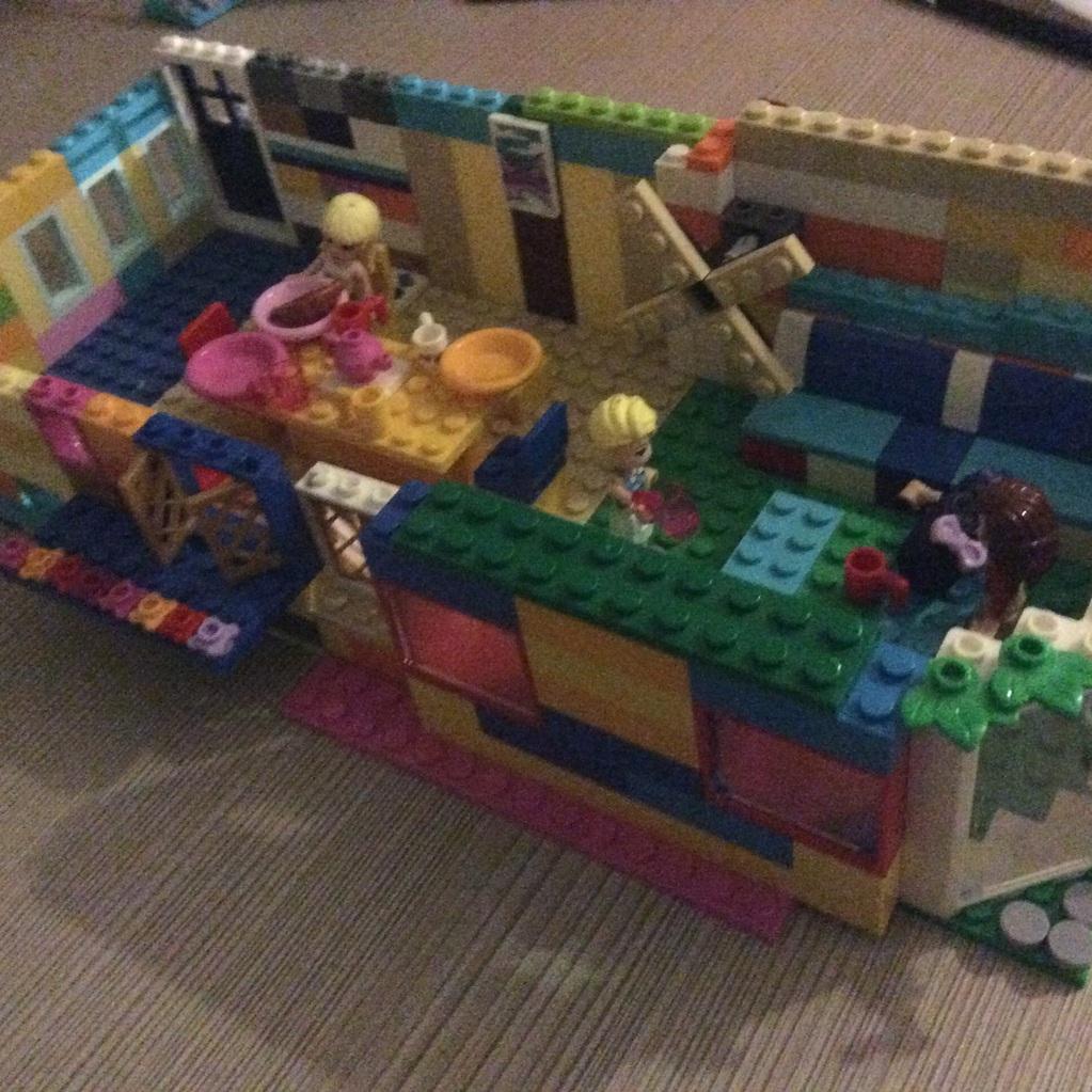 Huis met molen in