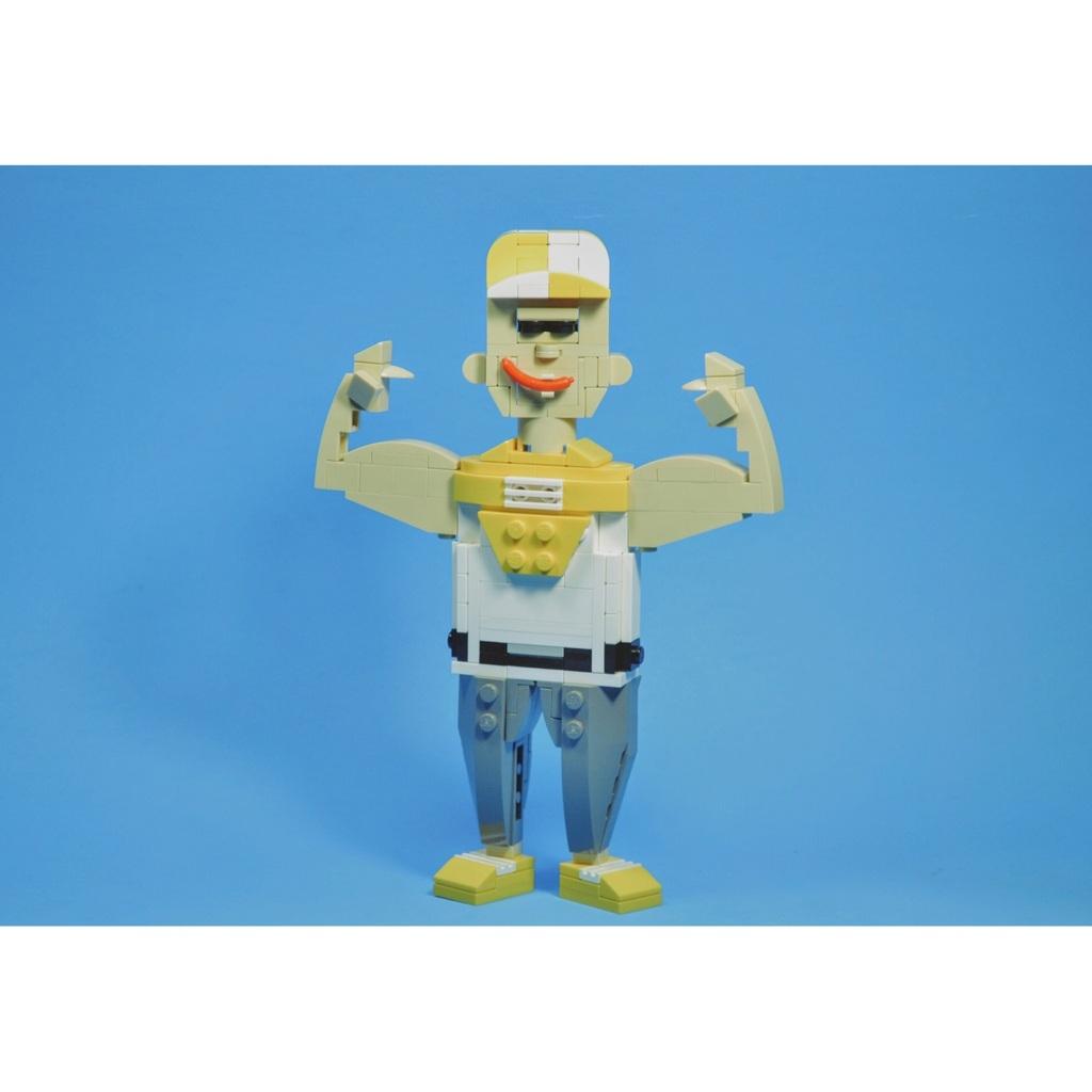 Lego athlete